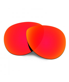 Hkuco Replacement Lenses For Oakley Feedback Sunglasses Red Polarized