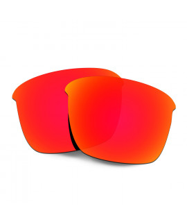 Hkuco Replacement Lenses For Oakley Thinlink Sunglasses Red Polarized