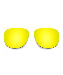 Hkuco Replacement Lenses For Oakley Crossrange R Sunglasses 24K Gold Polarized