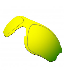 Hkuco Replacement Lenses For Oakley EVZero OO9308 Sunglasses 24K Gold Polarized