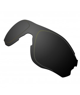 Hkuco Replacement Lenses For Oakley EVZero OO9308 Sunglasses Black Polarized