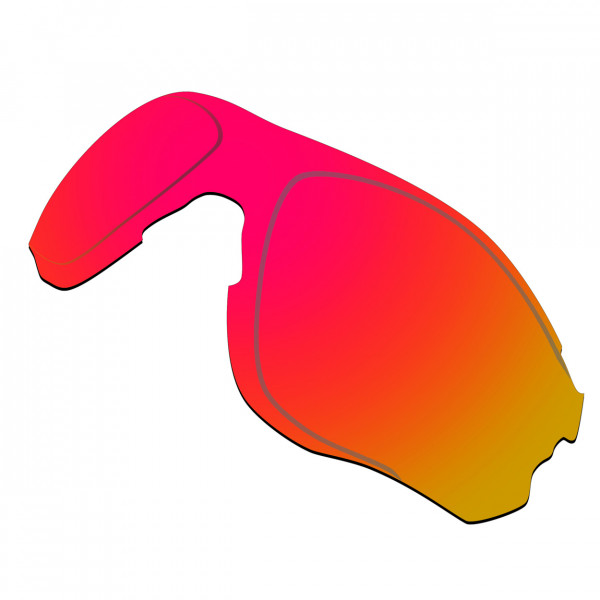 Hkuco Replacement Lenses For Oakley EVZero OO9308 Sunglasses Red Polarized