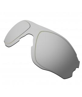 Hkuco Replacement Lenses For Oakley EVZero OO9308 Sunglasses Titanium Mirror Polarized