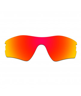 Hkuco Mens Replacement Lenses For Oakley Radar Pitch Sunglasses Red Polarized
