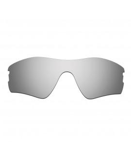Hkuco Mens Replacement Lenses For Oakley Radar Pitch Sunglasses Titanium Mirror Polarized