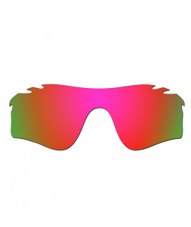 Hkuco Mens Replacement Lenses For Oakley Radarlock Path Vented Sunglasses Red Polarized