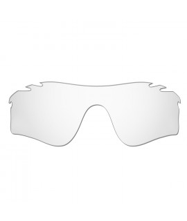 HKUCO Replacement Lenses For Oakley Radarlock Path Vented Sunglasses Transparent