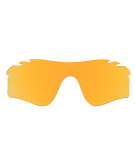 HKUCO Replacement Lenses For Oakley Radarlock Path Vented Sunglasses Transparent Yellow