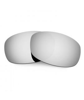 Hkuco Mens Replacement Lenses For Costa Brine Sunglasses Titanium Mirror Polarized