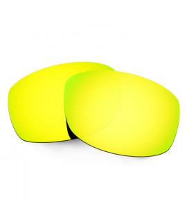Hkuco Mens Replacement Lenses For Costa Zane Sunglasses 24K Gold Polarized