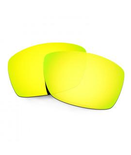 Hkuco Mens Replacement Lenses For Costa Corbina Sunglasses 24K Gold Polarized
