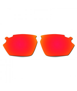 Hkuco Replacement Lenses For Rudy Stratofly Sunglasses Red Polarized