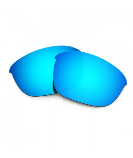 HKUCO Blue Polarized Replacement Lenses For Oakley Half Jacket 2.0 Sunglasses