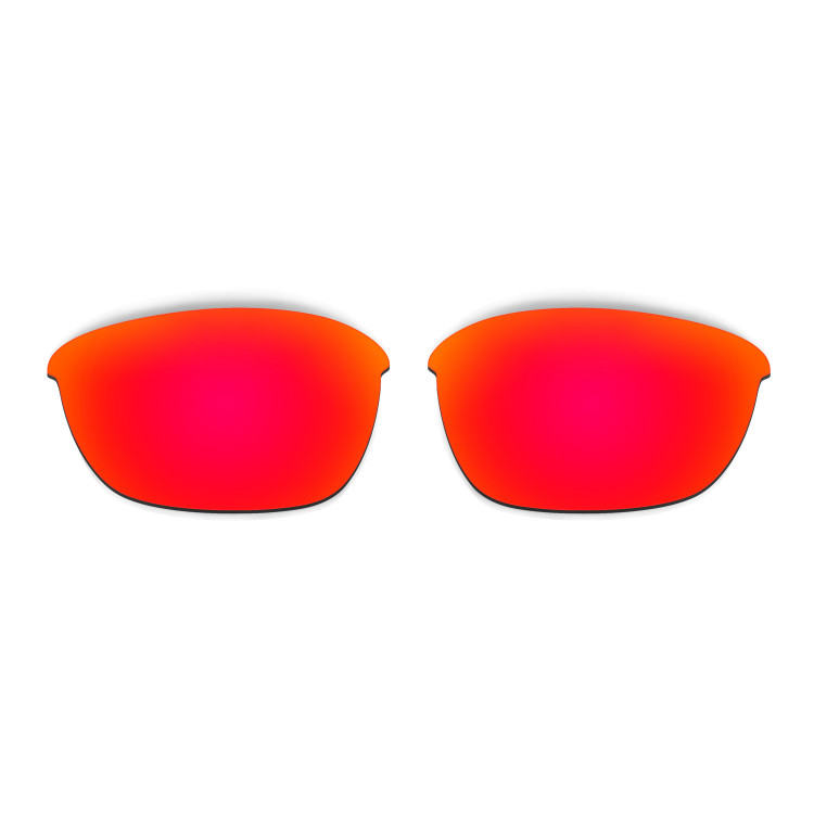 HKUCO Mens Replacement Lenses For Oakley Half Jacket 2.0 Red/Titanium/Purple Sunglasses QyJs3dz