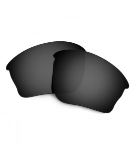 HKUCO Black Polarized Replacement Lenses For Oakley Half jacket XLJ Sunglasses
