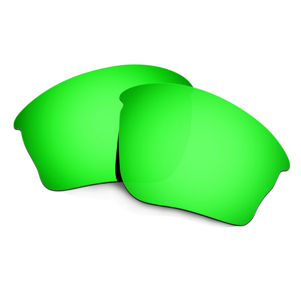 HKUCO Green Polarized Replacement Lenses For Oakley Half jacket XLJ Sunglasses