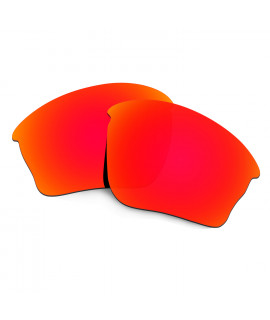 HKUCO Red Polarized Replacement Lenses For Oakley Half jacket XLJ Sunglasses