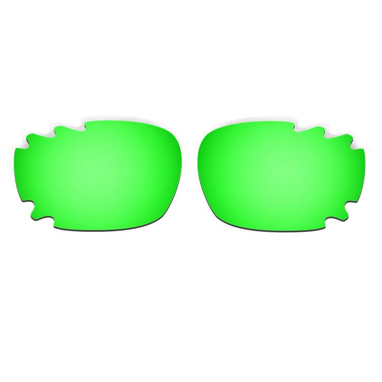 HKUCO Titanium/Emerald Green/Transition/Photochromic Polarized Replacement Lenses For Oakley Jawbone Vented Sunglasses WXo0L