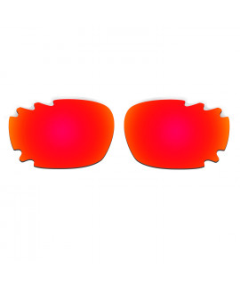 HKUCO Red Replacement Lenses For Oakley Jawbone Vented Sunglasses