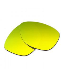 Hkuco Mens Replacement Lenses For Oakley Jupiter Sunglasses 24K Gold Polarized