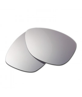 Hkuco Mens Replacement Lenses For Oakley Jupiter Sunglasses Titanium Mirror Polarized