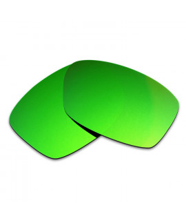 HKUCO Green Polarized Replacement Lenses For Oakley Jupiter Squared Sunglasses