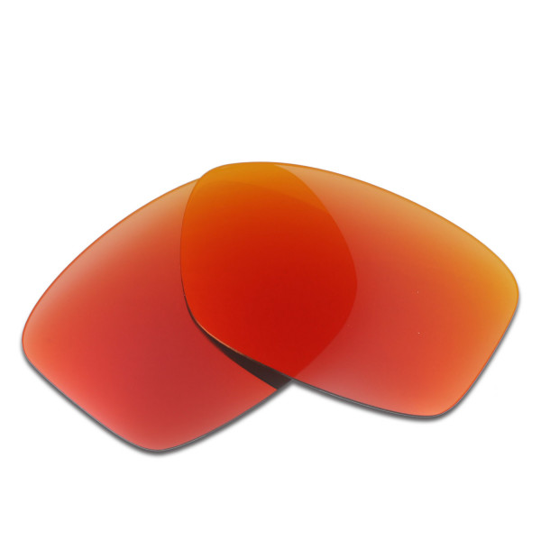 HKUCO Red Polarized Replacement Lenses For Oakley Jupiter Squared Sunglasses