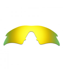 HKUCO 24K Gold Polarized Replacement Lenses For Oakley M Frame Sweep Sunglasses