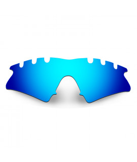 Hkuco Mens Replacement Lenses For Oakley M Frame Sweep-Vented Sunglasses Blue Polarized