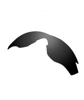 HKUCO Black Polarized Replacement Lenses For Oakley M2 Sunglasses