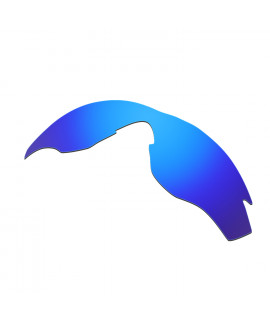 HKUCO Blue Polarized Replacement Lenses For Oakley M2 Sunglasses