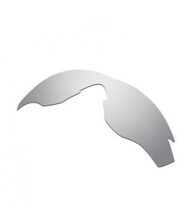 HKUCO Titanium Mirror Polarized Replacement Lenses For Oakley M2 Sunglasses
