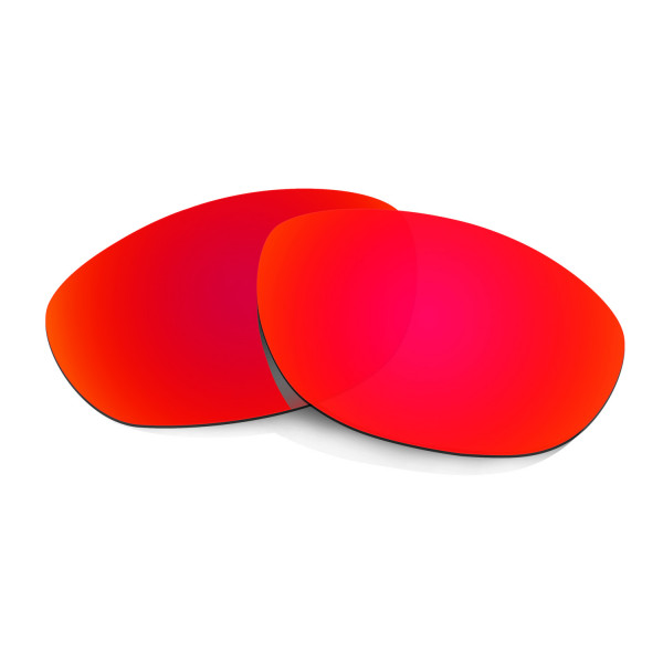 HKUCO Red Replacement Lenses For Oakley Monster Dog Sunglasses
