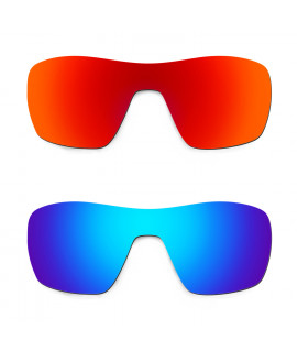 HKUCO Red+Blue Replacement Lenses For Oakley Offshoot Sunglasses