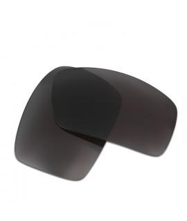 HKUCO Black Polarized Replacement Lenses For Oakley Oil Drum Sunglasses