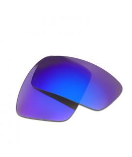 HKUCO Blue Polarized Replacement Lenses For Oakley Oil Drum Sunglasses