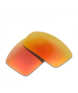 HKUCO Red Polarized Replacement Lenses For Oakley Oil Drum Sunglasses