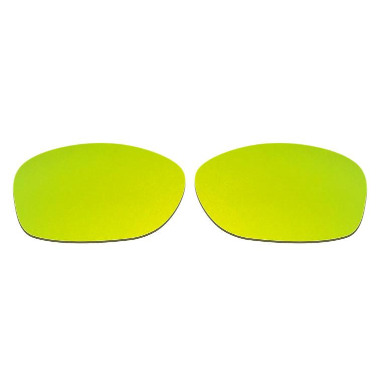 HKUCO Mens Replacement Lenses For Oakley Pit Bull Red/Emerald Green Sunglasses PmvdJWep