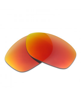 HKUCO Red Polarized Replacement Lenses For Oakley Pit Bull Sunglasses