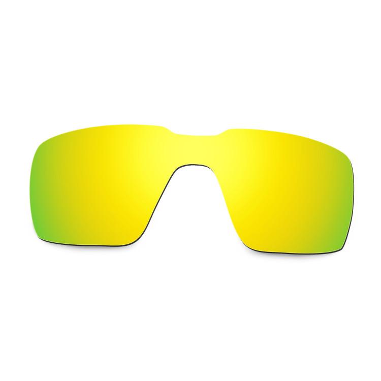 e5073690a7fe9 Hkuco Mens Replacement Lenses For Oakley Probation Sunglasses 24K Gold  Polarized