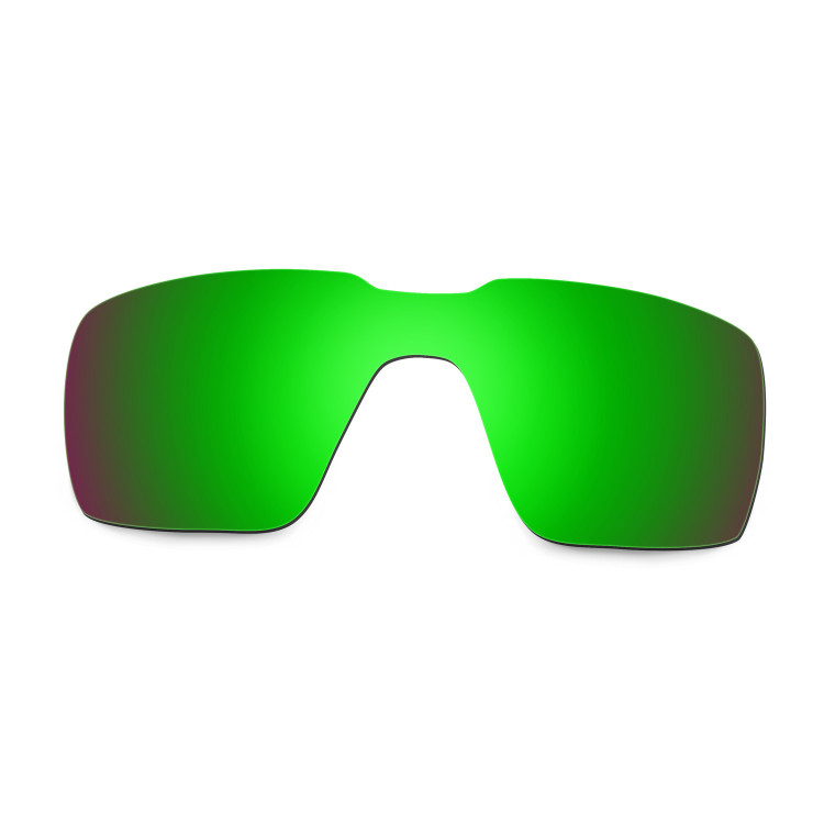 facf908aa8039 Hkuco Mens Replacement Lenses For Oakley Probation Sunglasses Emerald Green  Polarized