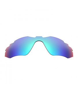 HKUCO Blue Polarized Replacement Lenses For Oakley Radar Edge Sunglasses