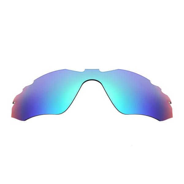 HKUCO Mens Replacement Lenses for Oakley Radar Edge Blue/Green Sunglasses ObLsGx