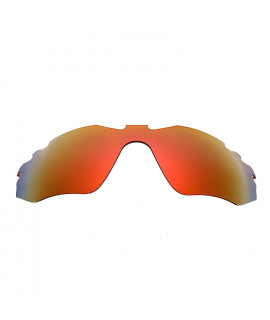 HKUCO Red Polarized Replacement Lenses For Oakley Radar Edge Sunglasses
