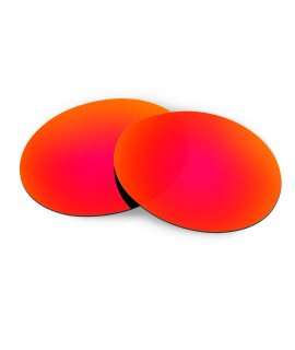 HKUCO Red Replacement Lenses For Oakley Romeo 1 Sunglasses