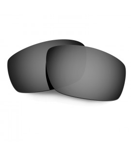 HKUCO Black Polarized Replacement Lenses For Oakley Split Jacket Sunglasses