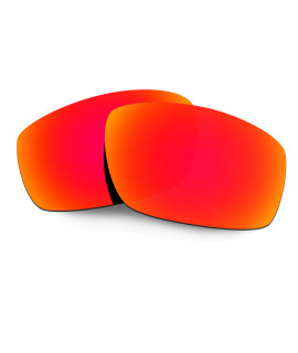 HKUCO Red Polarized Replacement Lenses For Oakley Split Jacket Sunglasses