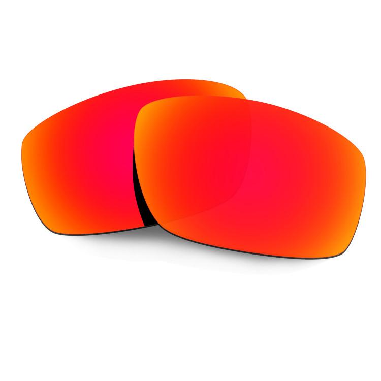 bbf09034a1b HKUCO Red Polarized Replacement Lenses For Oakley Splinter Sunglasses