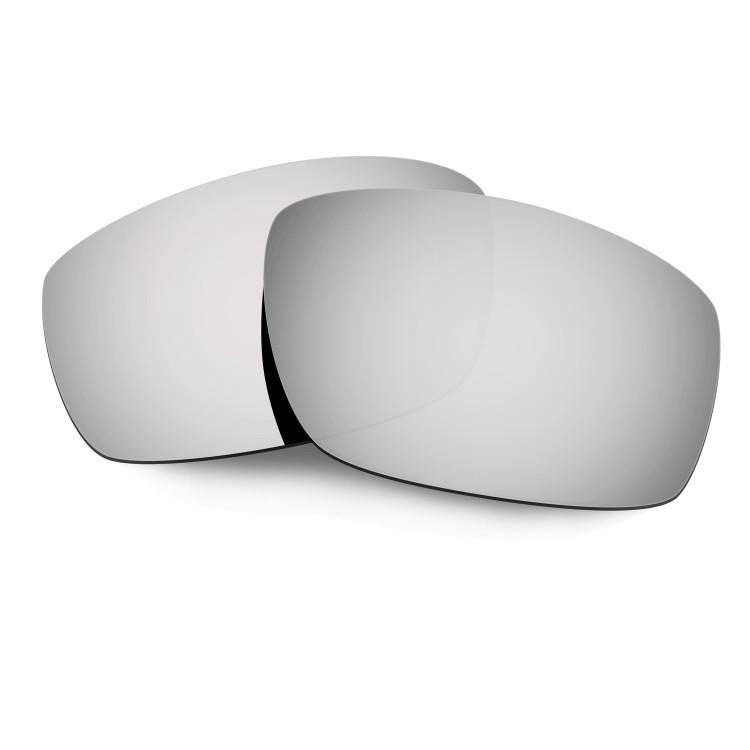 3a1ae65e084 Hkuco Mens Replacement Lenses For Oakley Splinter Sunglasses Titanium  Mirror Polarized
