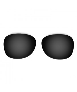 HKUCO Black Replacement Lenses For Ray-Ban Wayfarer RB2132 52mm